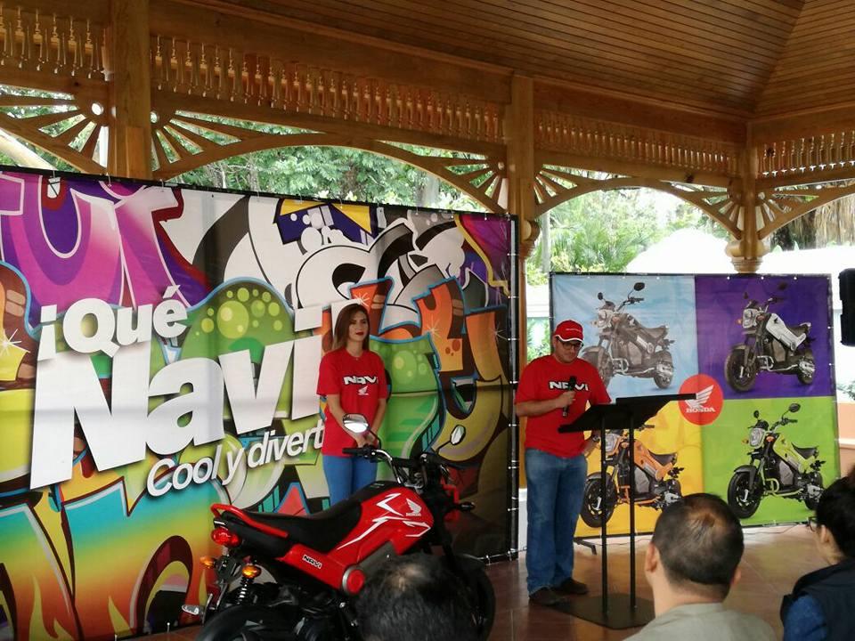 Presentación Honda Navi
